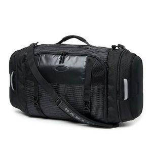NWT Oakley Link Black Duffle Gym/ Travel Bag